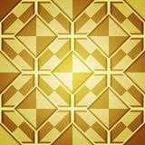 Fond abstrait avec les places d'or Photo stock