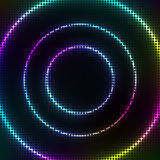 Fond abstrait avec les points noirs illustration de vecteur