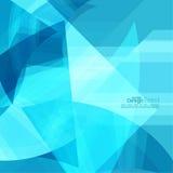 Fond abstrait avec les rayures bleues Image stock