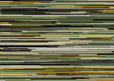 Fond abstrait avec les rayures horizontales glitched, lignes de courant Concept de l'esthétique de l'erreur de signal illustration libre de droits