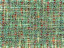 Fond abstrait avec les sphères vertes Photo libre de droits