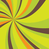 Fond abstrait avec swirly le rayon de soleil illustration de vecteur