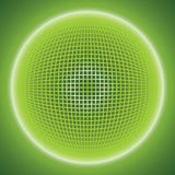 Fond abstrait avec une boule de grille conception de la techno 3d Vecteur ENV 10 Photos stock