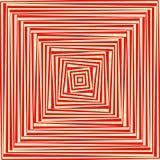 Fond abstrait blanc rouge Papier peint psychédélique illustration libre de droits