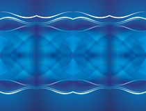 Fond abstrait bleu Photos stock