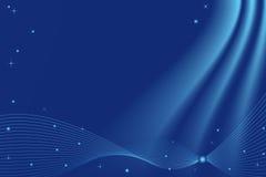Fond abstrait (bleu) Image stock