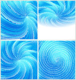 Fond abstrait bleu illustration stock
