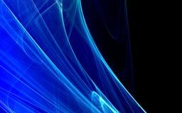 Fond abstrait bleu Photo stock