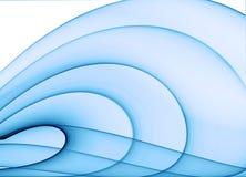 Fond abstrait bleu illustration libre de droits