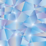 Fond abstrait bleu Photos libres de droits