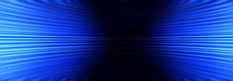 Fond abstrait bleu de bannière Photos stock