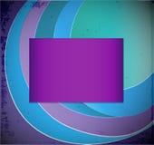 Fond abstrait bleu de vecteur Photographie stock