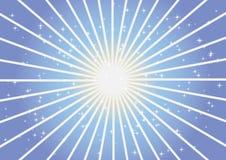 Fond abstrait bleu de vecteur Photographie stock libre de droits