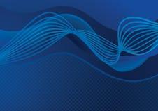 Fond abstrait bleu-foncé illustration libre de droits