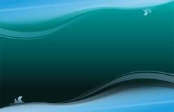 Fond abstrait bleu profond. illustration de vecteur