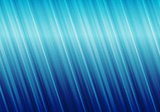Fond abstrait bleu rayé Images libres de droits