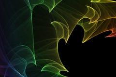 Fond abstrait brillamment coloré Images libres de droits