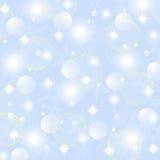 Fond abstrait brillant de Noël Images libres de droits