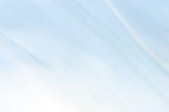 Fond abstrait brouillé Bleu-clair et blanc Photos libres de droits