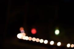 Fond abstrait brouillé de couleur de lumières Photos stock