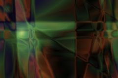 Fond abstrait brouillé Defocused - rouge et vert vifs Photographie stock libre de droits