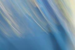Fond abstrait brouillé Lumière bleue et blanche photos libres de droits