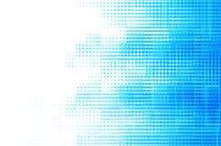 Fond abstrait carré bleu Image libre de droits