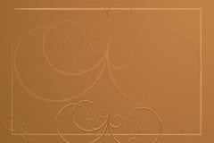 Fond abstrait - carte de restaurant Images libres de droits