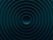 Fond abstrait circulaire cyan canette illustration libre de droits
