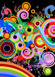 Fond abstrait coloré Photo libre de droits