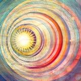 Fond abstrait coloré illustration libre de droits