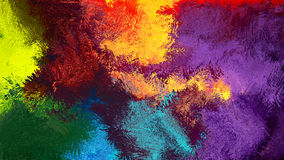 Fond abstrait coloré d'art abstrait de Digital Images libres de droits