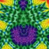 Fond abstrait coloré de fractale Photos stock