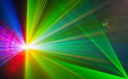 Fond abstrait coloré de Laserlight avec l'espace pour le texte ou Images stock