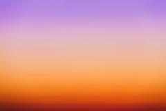 Fond abstrait coloré de Sunny Sky At Sunse clair naturel Images stock