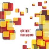 Fond abstrait, concept de construction de vecteur Photo stock