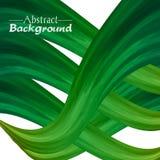 Fond abstrait créatif pour votre conception Couleurs vertes Illustration Libre de Droits