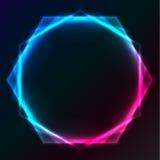 Fond abstrait d'éclairage de plasma Photo libre de droits
