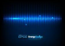 Fond abstrait d'énergie illustration libre de droits