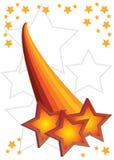 Fond abstrait d'étoile Illustration de Vecteur