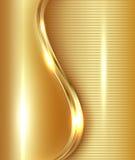 Fond abstrait d'or illustration de vecteur