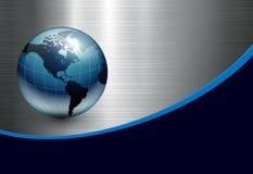 Fond abstrait d'affaires Image libre de droits