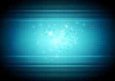 Fond abstrait d'affaires de technologie Images stock