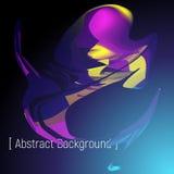 Fond abstrait d'affiche Image stock