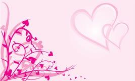 Fond abstrait d'amour illustration stock