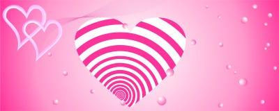 Fond abstrait d'amour illustration libre de droits