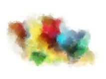 Fond abstrait d'aquarelle Photo stock