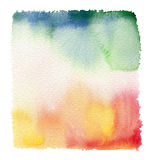 Fond abstrait d'aquarelle Photo libre de droits