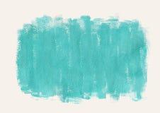 Fond abstrait d'aquarelle Courses de brosse d'encre avec l'edg approximatif Images libres de droits