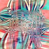 Fond abstrait d'aquarelle de couleur Photos stock
